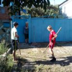 У новых тимуровцев много дел