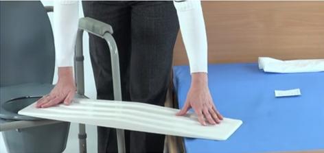 Доска для пересаживания пациента