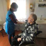 Работник отделения социального обслуживания на дому с.Благодатное