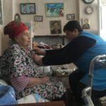Работник отделения социального обслуживания на дому с.Высоцкое
