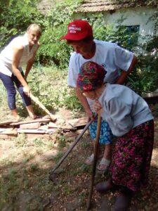 Помощь на дому силами волонтеров